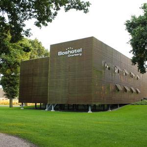 Unieke locatie voor teambuilding van Team4Teams in het Boshotel in Overberg