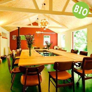 Bij teambuilding Amstelveen kunt u biologisch lunchen in de Heemhuisjes