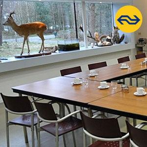 Teambuildingslocatie in Nunspeet Gelderland bezoekerscentrum Staatsbosbeheer