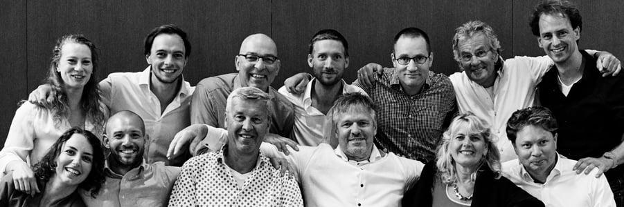 Het team van Team4Teams met het antwoord op teambuilding why