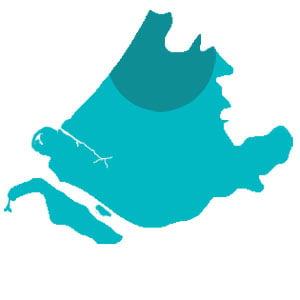 teambuildingslocaties regio Alphen aan den Rijn, Leiden, Noordwijk in het noorden van Zuid-Holland