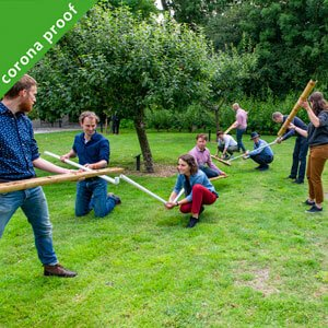 Teambuilding outdoors covid-19-proof